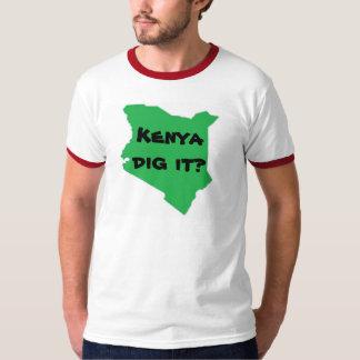 Kenya dig it? T-Shirt