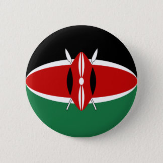 Kenya Fisheye Flag Button