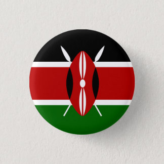 Kenya Flag 3 Cm Round Badge