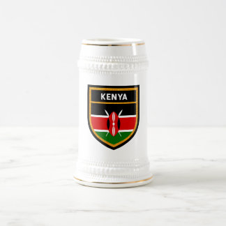 Kenya Flag Beer Stein