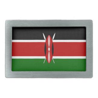 Kenya Flag Belt Buckles