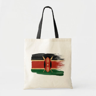 Kenya Flag Canvas Bags
