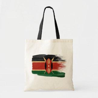 Kenya Flag Canvas Bags