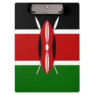 Kenya Flag Clipboard