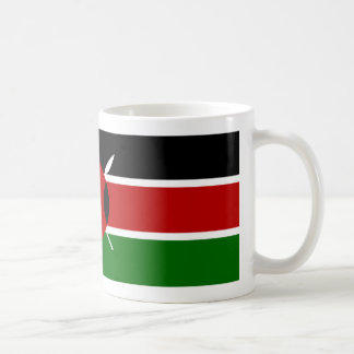Kenya Flag Coffee Mug