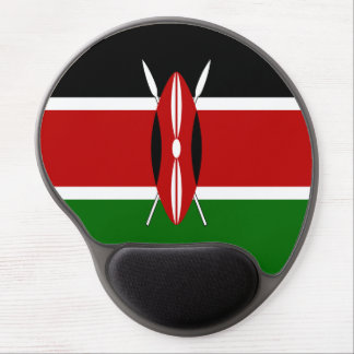 Kenya Flag Gel Mouse Pad