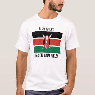 Kenya_flag, Kenyan, Track and Field T-Shirt