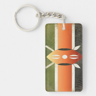 Kenya Flag Key Chain Souvenir