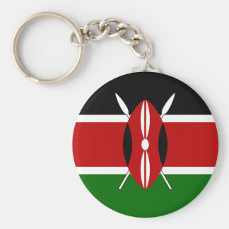 Kenya Flag Key Ring