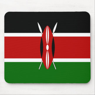 Kenya Flag Mouse Pad