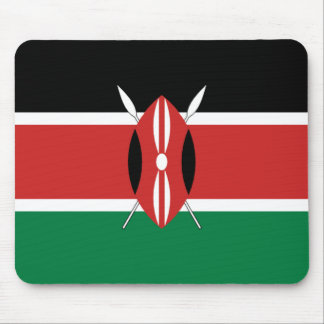 Kenya Flag Mousepad