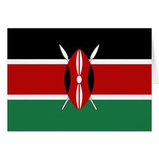 Kenya Flag Notecard Note Card
