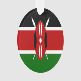 Kenya Flag Ornament