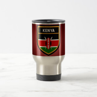 Kenya Flag Travel Mug