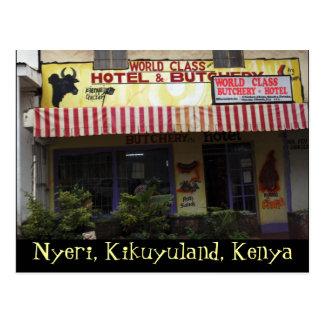 Kenya Funny Sign Postcard