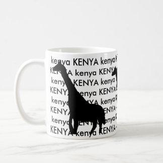 Kenya Giraffe Coffee Mug