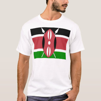 Kenya High quality Flag T-Shirt