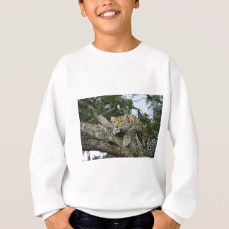 Kenya Leopard Tree Africa Safari Animal Wild Cat Sweatshirt