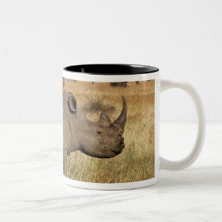 Kenya: Lewa Wildlife Conservancy, white Two-Tone Mug