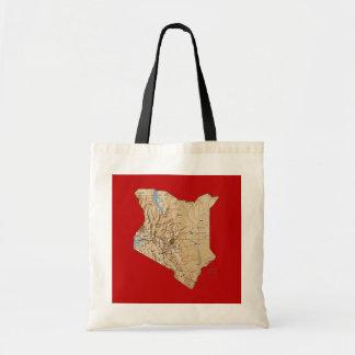 Kenya Map Bag