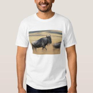 Kenya, Masai Mara Game Reserve, Blurred image Tee Shirts