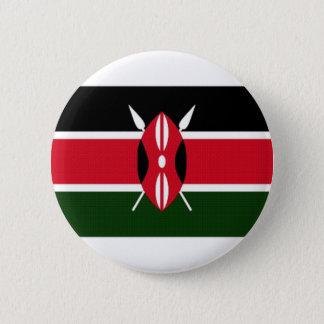 Kenya National Flag 6 Cm Round Badge