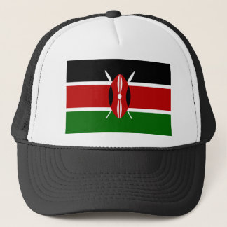 Kenya National World Flag Trucker Hat
