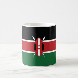Kenya Plain Flag Coffee Mug