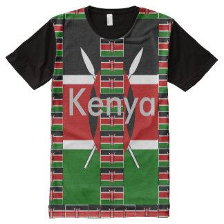 Kenya Raha Hakuna Matata funny quote All-Over Print T-Shirt
