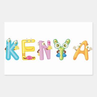 Kenya Sticker