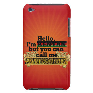 Kenyan, but call me Awesome Case-Mate iPod Touch Case