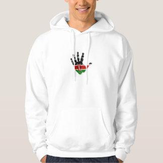 kenyan flag branded hoodies