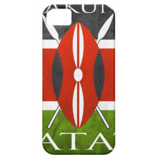 Kenyan Flag- Hakuna Matata iPhone 5 Cover