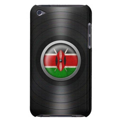 Kenyan Flag Vinyl Record Album Graphic iPod Touch Cases
