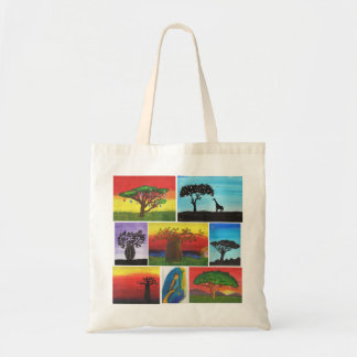 Kenyan Kids Paintings Tote Bag