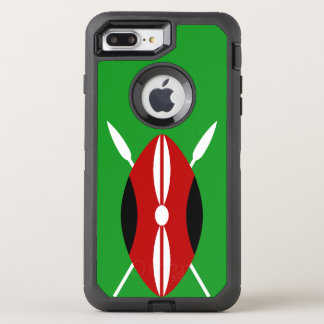 Kenyan Maasai Shield OtterBox Defender iPhone 8 Plus/7 Plus Case