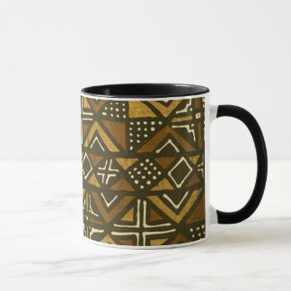 Kenyan Mud Cloth Pattern #1 Mug