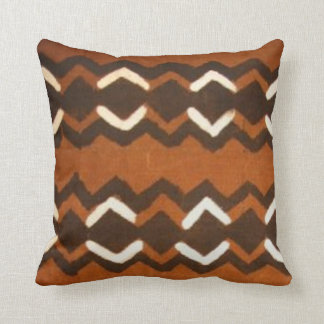 Kenyan Mud Cloth Pattern Pillow