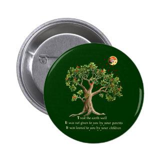 Kenyan Nature Proverb 6 Cm Round Badge