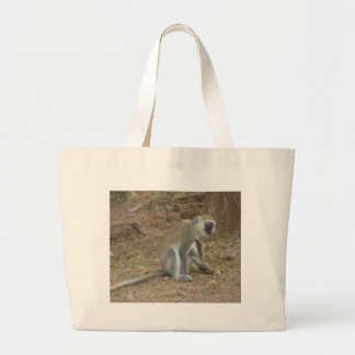 Kenyan Vervet Monkey Bag, African Safari Collectio