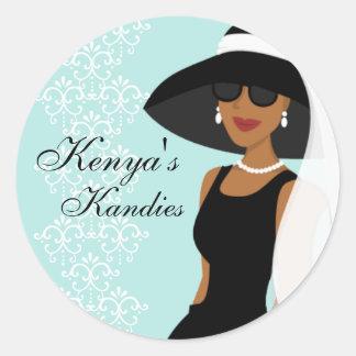 Kenya's Kandies Choice 2 Classic Round Sticker