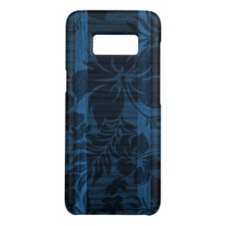 Keokea Beach Blue Faux Wood Surfboard Case-Mate Samsung Galaxy S8 Case