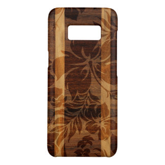 Keokea Beach Faux Koa Wood Surfboard Case-Mate Samsung Galaxy S8 Case