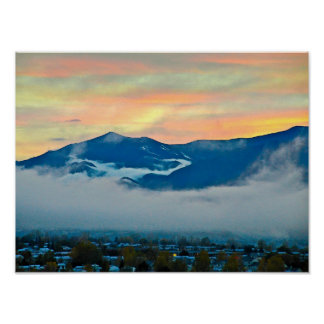 KEP_20051030 Pike's Peak at sunet Poster