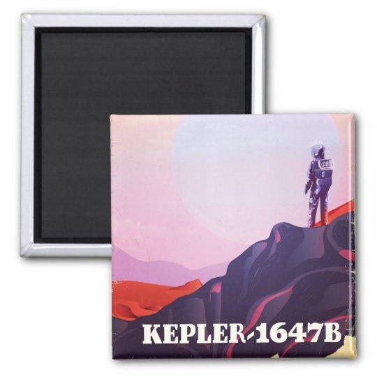 Kepler - 1647B travel poster Magnet
