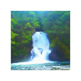 Kepler Waterfall Canvas Print