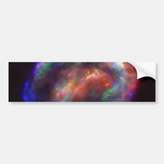 Kepler's Supernova Remnant In Visible, X-Ray Bumper Stickers
