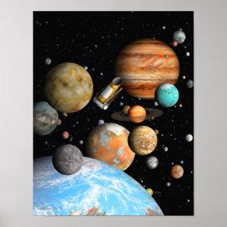 Kepler's Worlds Poster