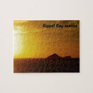 Keppel Bay sunrise jigsaw puzzle