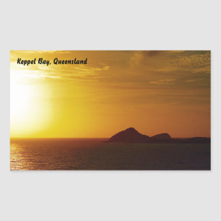 Keppel Bay sunrise sticker
